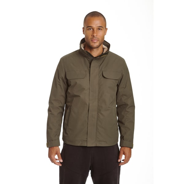 Champion Men's Big and Tall Tech Bomber with Sherpa Interior