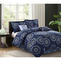 R2Zen Marrakesh Navy 7-piece Comforter Set