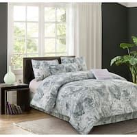 R2Zen Carrera Grey 7-piece Comforter Set