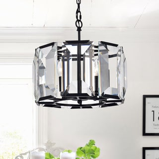 Firefly Floating Crystal 5 Light Dangling Pendant Free