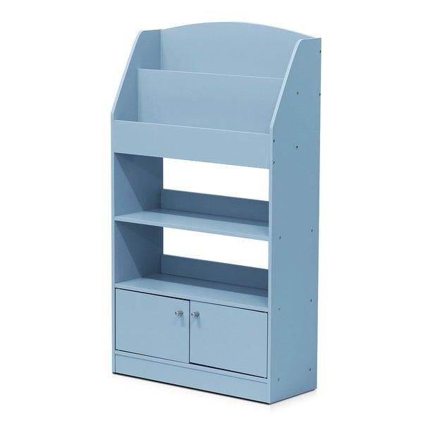 Kidkanac Magazine Bookshelf With Toy Storage Cabinet