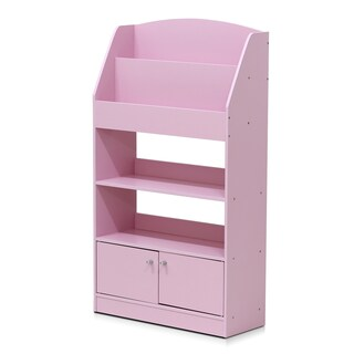Kidkanac Magazine/Bookshelf with Toy Storage Cabinet