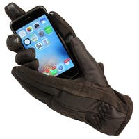 Women's Isotoner A21542 ThermaFlex Smart Touch Glove Black