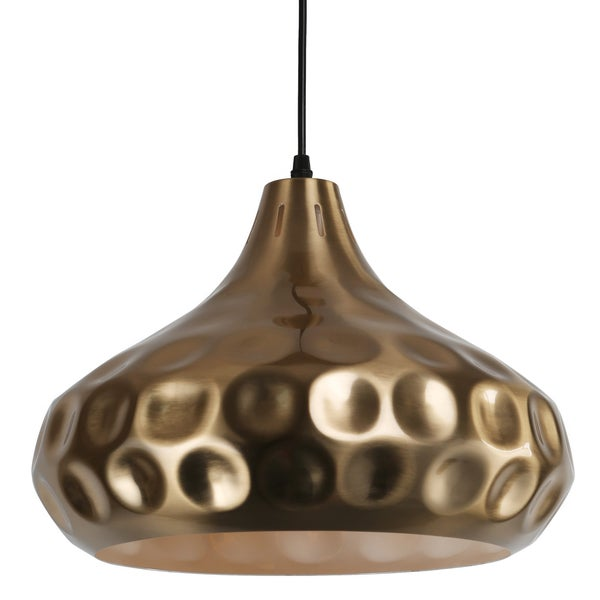 Journee Home Oralee Copper Iron 1-light Pendant