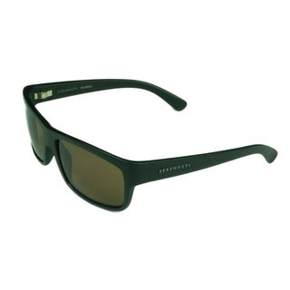 Serengeti Sport Mens 8588 Satin Black w/ Polarized Drivers Lens Sunglasses