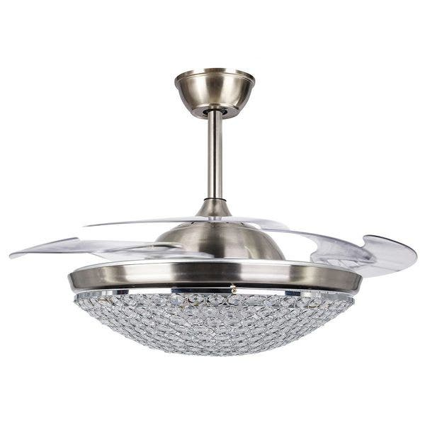 Led Ceiling Fan With Acrylic Blades