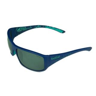 Bolle Sport Unisex Kingsnake 12122 Matte Blue w/ Polarized TNS Gun Oleo AF Lens Sunglasses