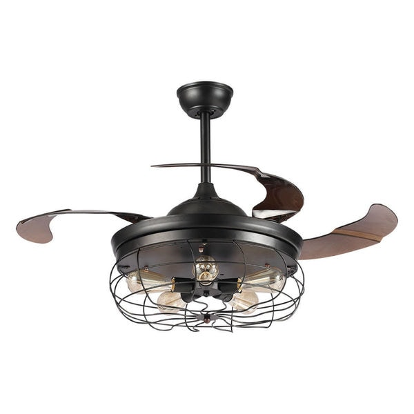 42 industrial foldable blades ceiling fans with shade free 42 industrial foldable blades ceiling fans with shade mozeypictures Gallery