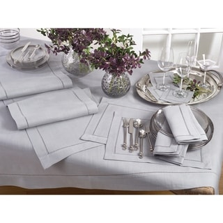 Classic Hemstitched Border Tablecloth