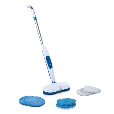 Prolux Mirage, Battery Powered Floor Buffer and Shiner with Brushless Motor Technology - White