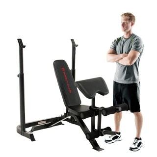 Marcy Club Deluxe Mid-Size Bench