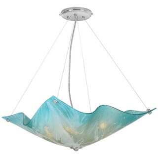 "Van Teal 541550 Blue Dawn 19"" Pendant"