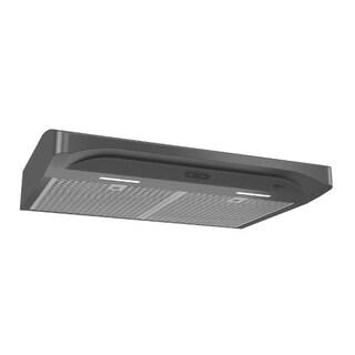 Alta 36 Inch 300 CFM Black Stainless Steel Range Hood