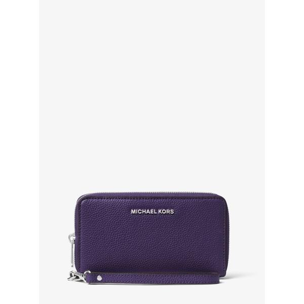 9cb551c73fd4 Shop MICHAEL Michael Kors Mercer Large Leather Smartphone Wristlet ...