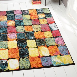 Porch & Den Hampden Berry Multi-colored Area Rug - 7'10 x 10'2