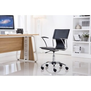 Porthos Home Office Chair With PVC Upholstery And Adjustable Height (4 options available)