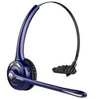 Mpow Professional Over-the-Head Driver's Rechargeable Wireless Bluetooth Headset with Microphone Noise Cancelling