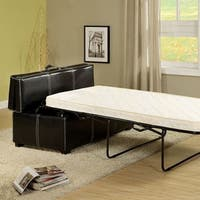 Appoline Ottoman (Pull-Out Bed), Contemporary Style - Black