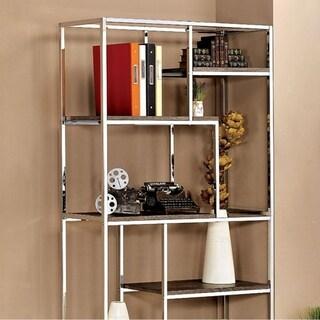 Elvira Contemporary Display Shelf, Chrome Finish