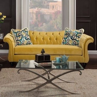 Royal Yellow Sofa By Antoinette