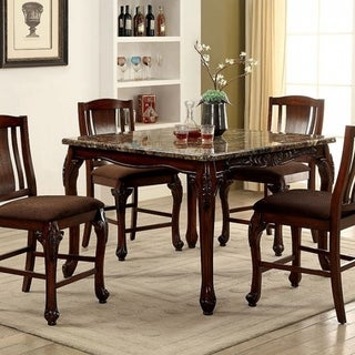 Johannesburg Brown Cherry Wood Traditional-style Counter-height Table