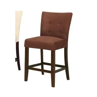 Benzara Baldwin Brown Counter-height Chair (Set of 2)