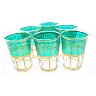 Moroccan Meknes Tea Glasses