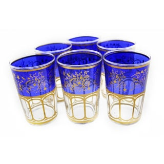 Moroccan Meknes Tea Glasses