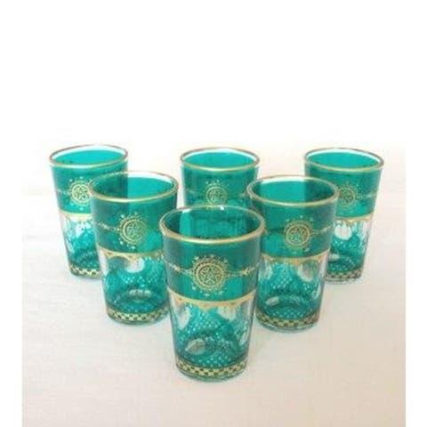 Handmade Moroccan Touareg Tea Glasses