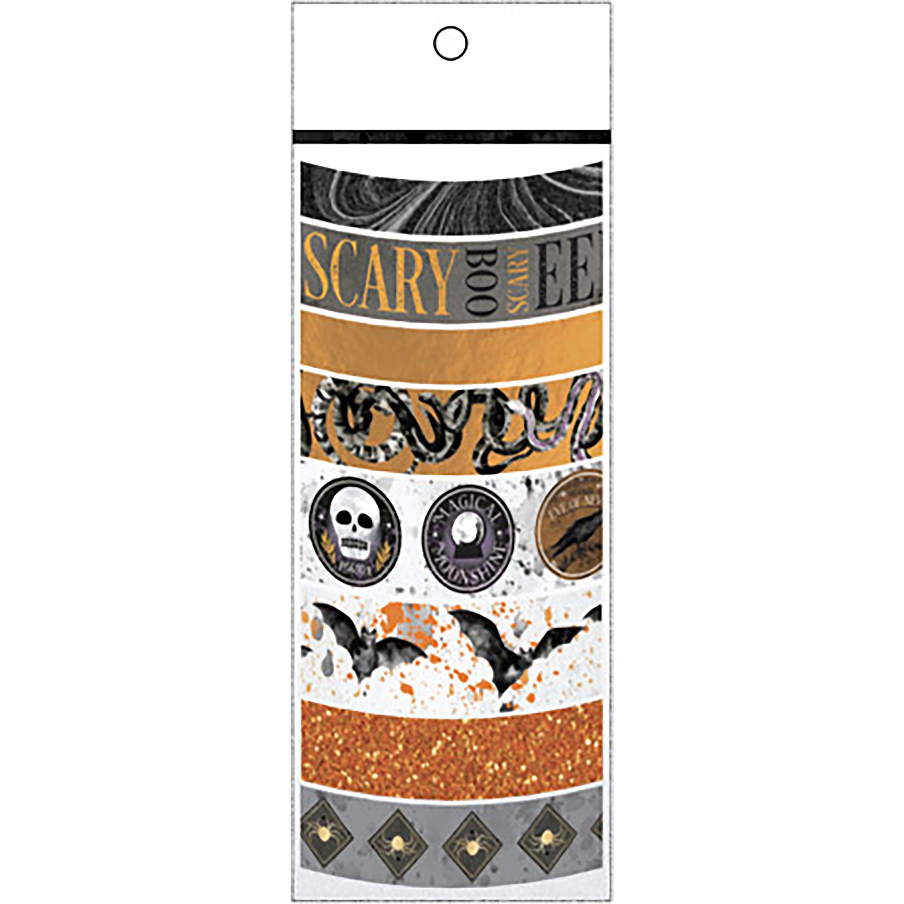 Martha Stewart Crafts Halloween Washi Tape 8 Assorted Rolls Overstock 18233799