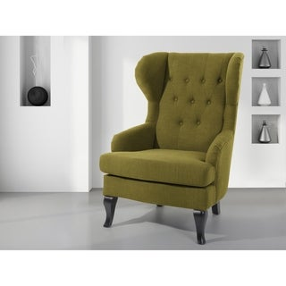 Perfect Wingback Chair Green ALTA