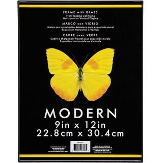 """Modern Plastic W/Glass Photo Frame 9""""X12"""""""