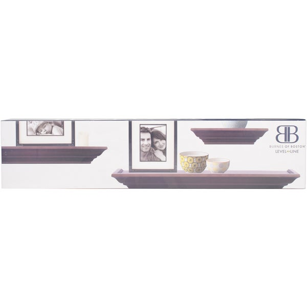 Shop Burnes Of Boston Picture Frame Ledge Set 3pkg Free Shipping
