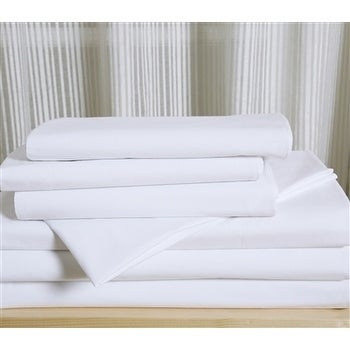 Affluence Hospitality 120 GSM Luxury Microfiber Fitted Sheets (Sold In  Dozens)