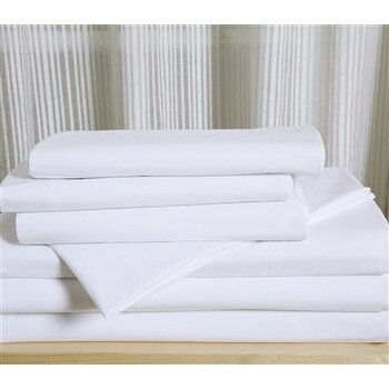 Affluence Hospitality 120 GSM Luxury Microfiber Fitted Sh...