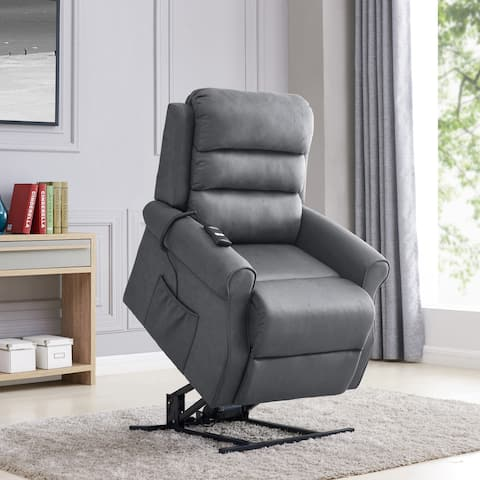 Copper Grove Gerards Slate Power Recline and Lift Chair