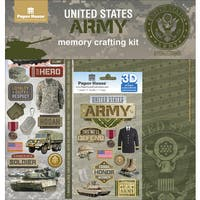 "U.S. Military Page Kit 12""X12"""