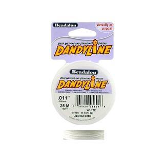 Beadalon Dandyline Pkg 0.28mm White 25M