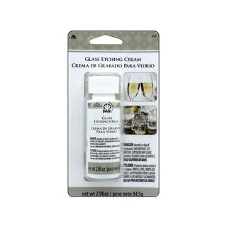 Plaid Folkart Etch Cream 2.98oz Carded