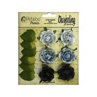 Petaloo Darjeeling Garden Rosette Blue