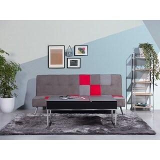 Beliani Celinda Black Wood/Metal Storage Coffee Table