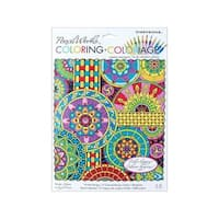 Dimensions Color By Number 9x12 Mandala Mont