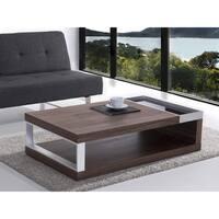 Walnut Rectangle Coffee Table - FARO