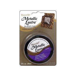 Decoart Metallic Lustre 1oz Majestic Purple