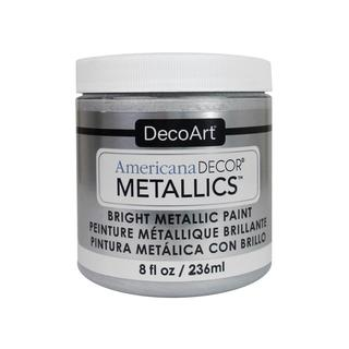 Decoart Americana Decor Metallics 8oz Sterl Slvr