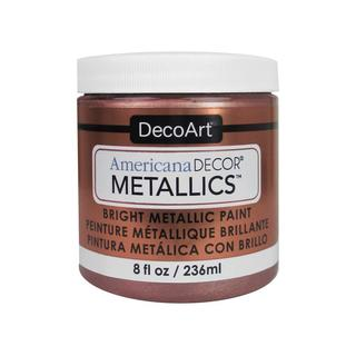 Decoart Americana Decor Metallics 8oz Rose Gold