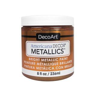Decoart Americana Decor Metallics 8oz Bronze