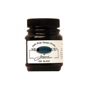 Jacquard Neopaque Paint 2.25oz Black