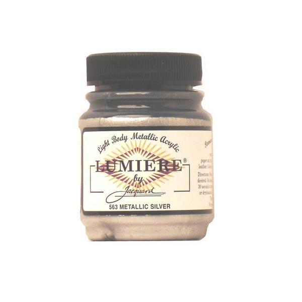 Jacquard Lumiere Paint 2.25oz Metallic Silver