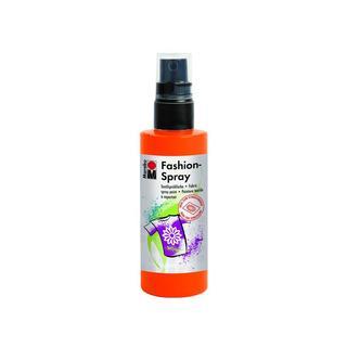Marabu Fashion Spray Paint 3.4oz Red Orange